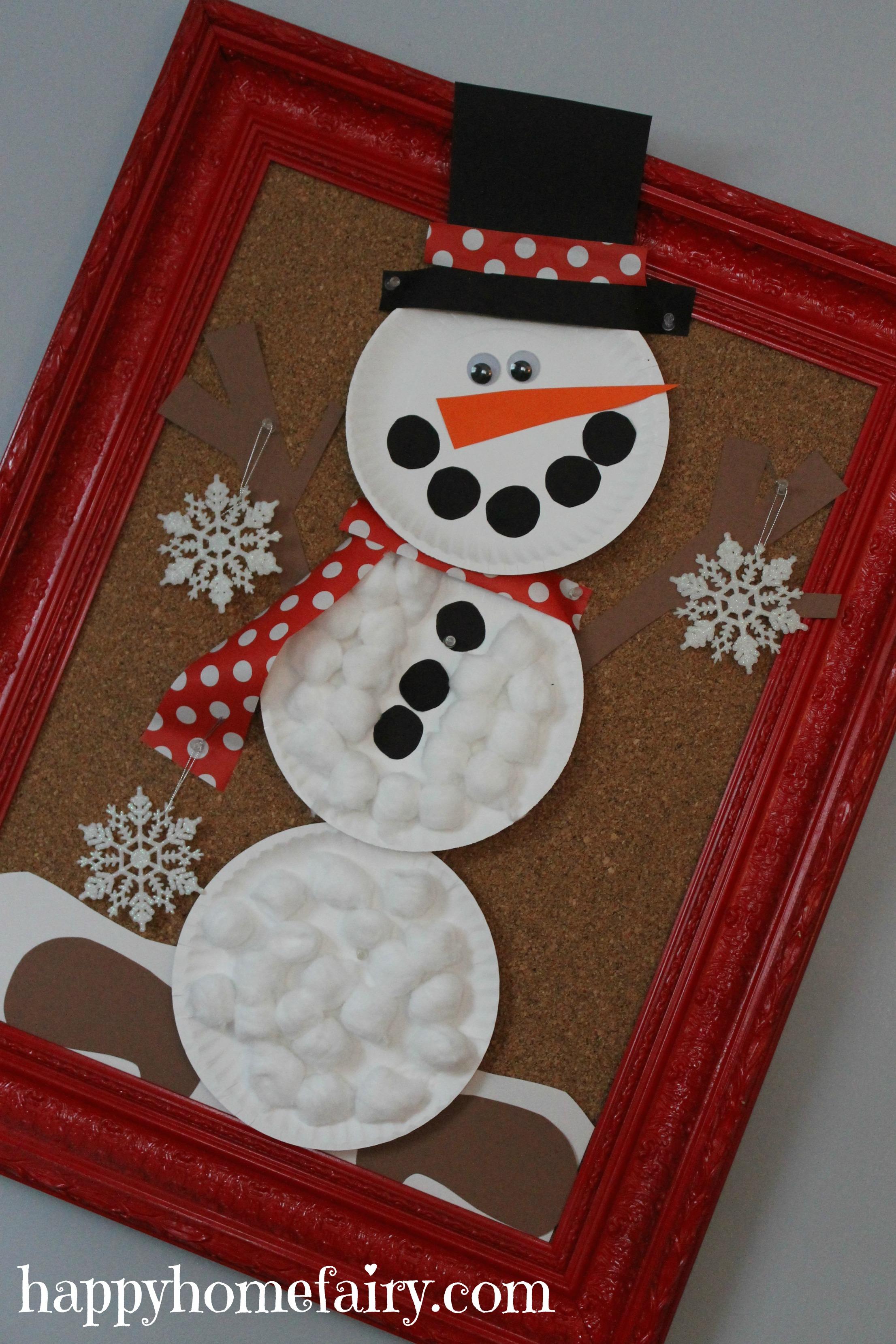 Easy giant snowman craft happy home fairy snowman 1 jeuxipadfo Gallery