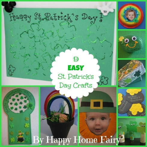 9 EASY St. Patrick's Day Crafts at Happy Home Fairy