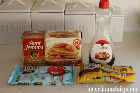 bunny pancake ingredients