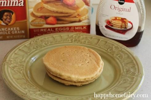 bunny pancakes step 1