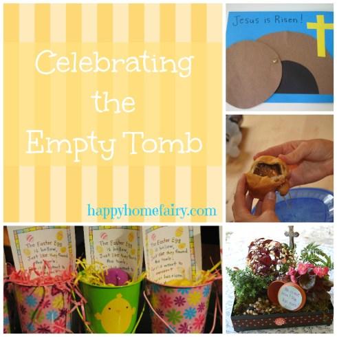 empty tomb ideas at happyhomefairy.com