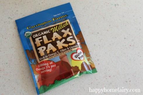 shamrock smoothie flax