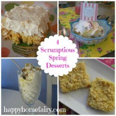 Scrumptious Desserts for Spring