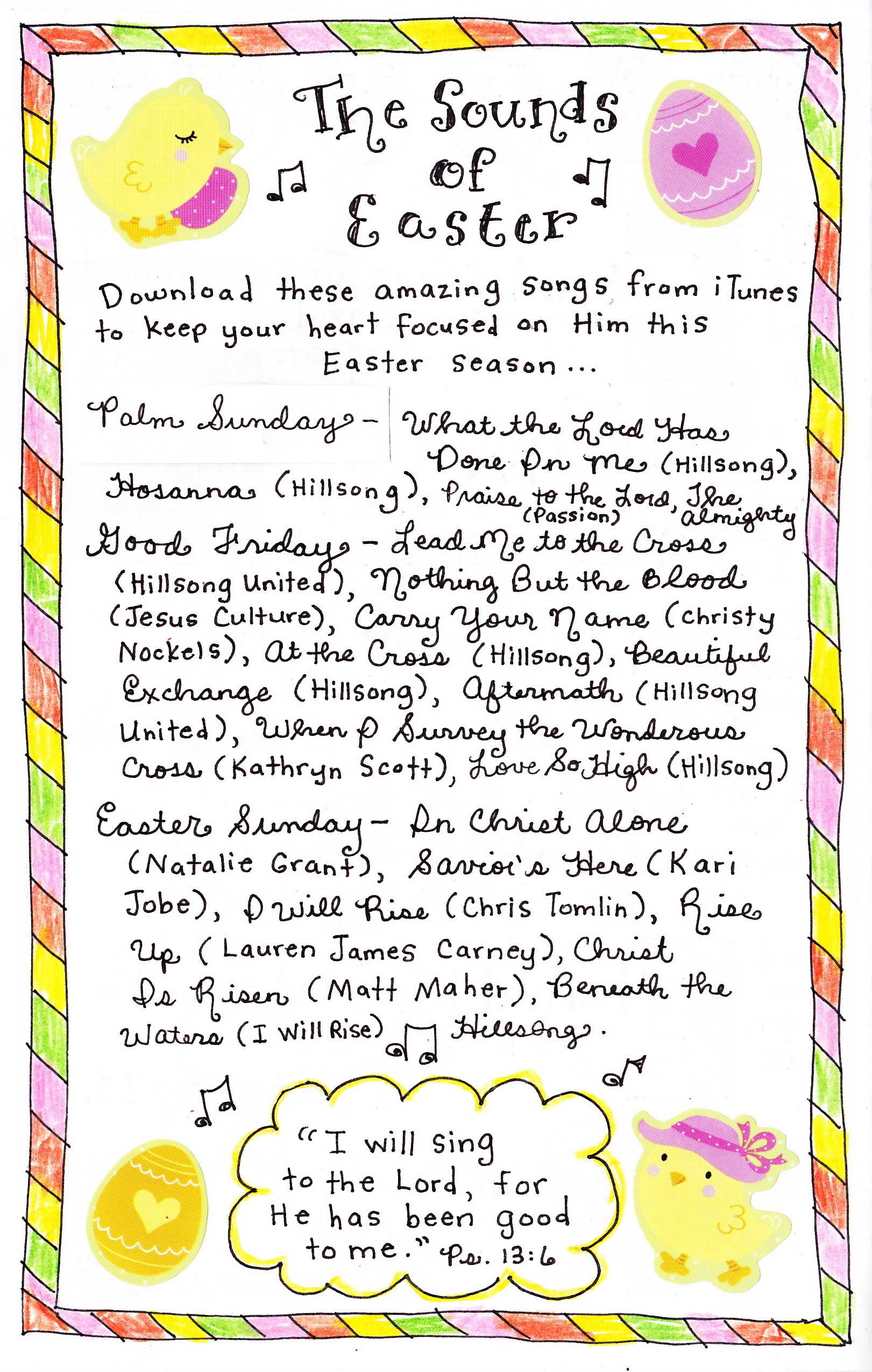 Youtube Easter Songs: The Sounds Of Easter