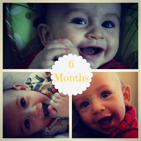 6 months collage