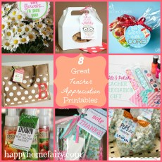 8 Great Teacher Appreciation Printables