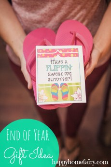 End of Year Gift Idea – FREE Printable!