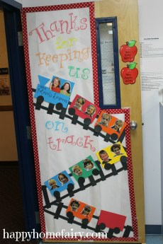 Cute Teacher Appreciation Door Idea