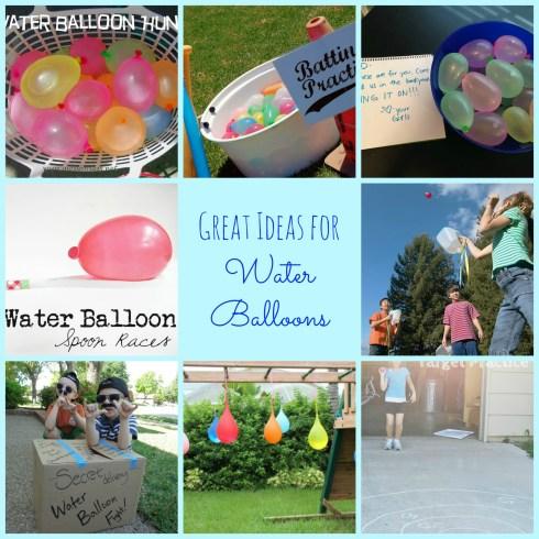 really great water balloon ideas to beat the summer heat!