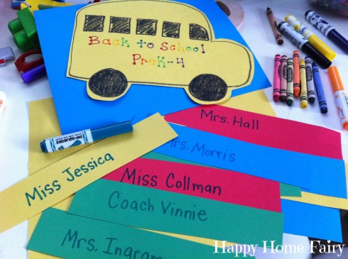school countdown prayer chain - so cute!
