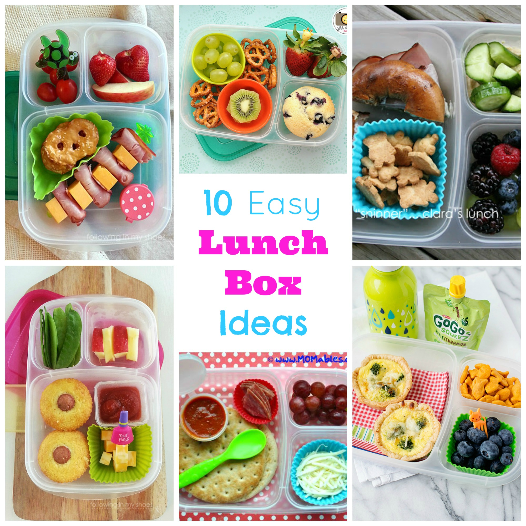 Easy Lunch Box Ideas Happy Home Fairy
