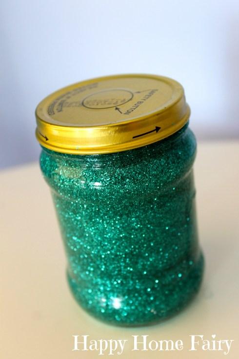 the calm down glitter jar!