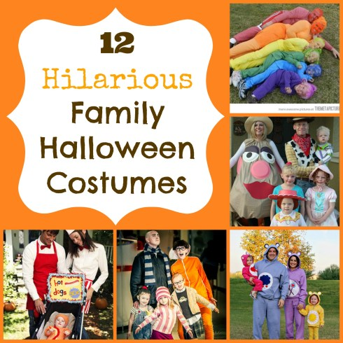 12 hilarious family halloween costume ideas!