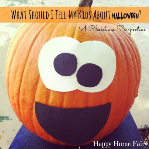 a great article on navigating Halloween as a Christian family.