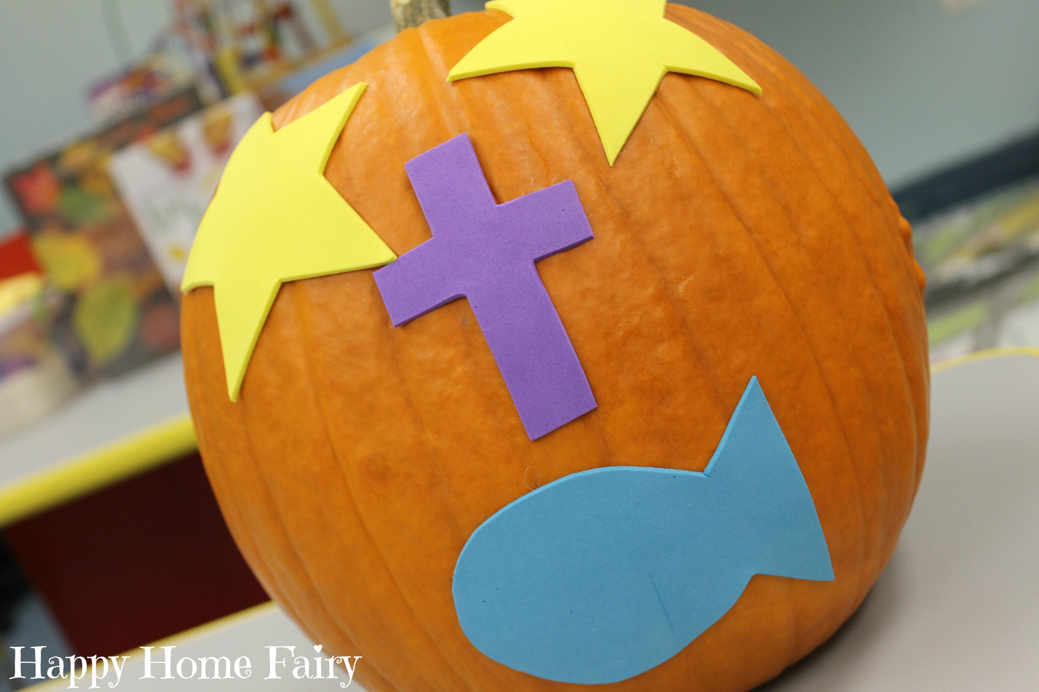 the gospel pumpkin - free printable