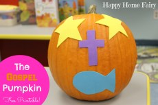 The Gospel Pumpkin – FREE Printable!