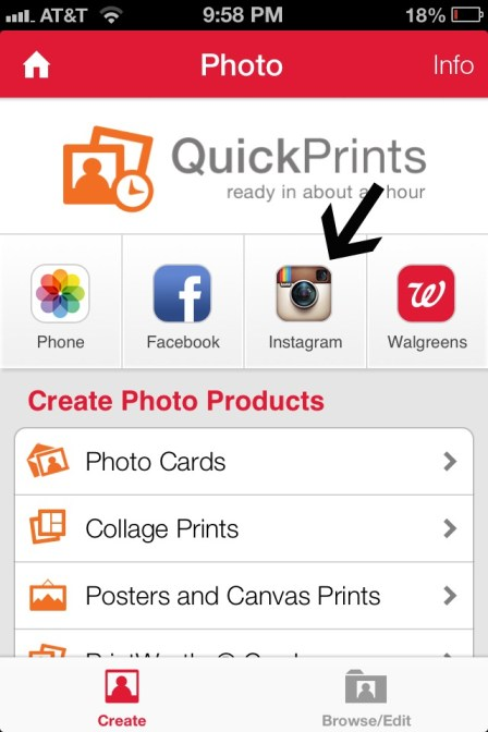 how to print your instagram photos at Walgreens.jpg2.jpg