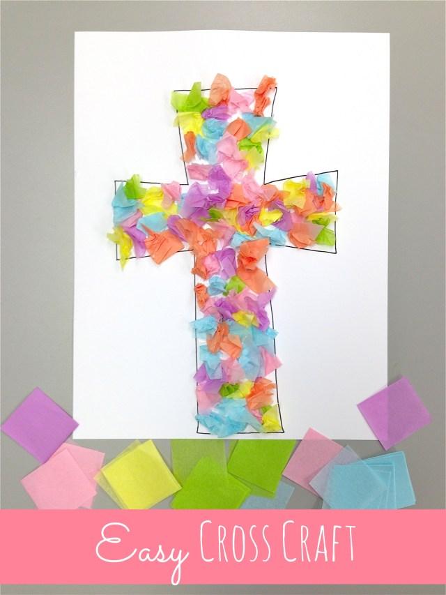 easy cross craft at happyhomefairy.com