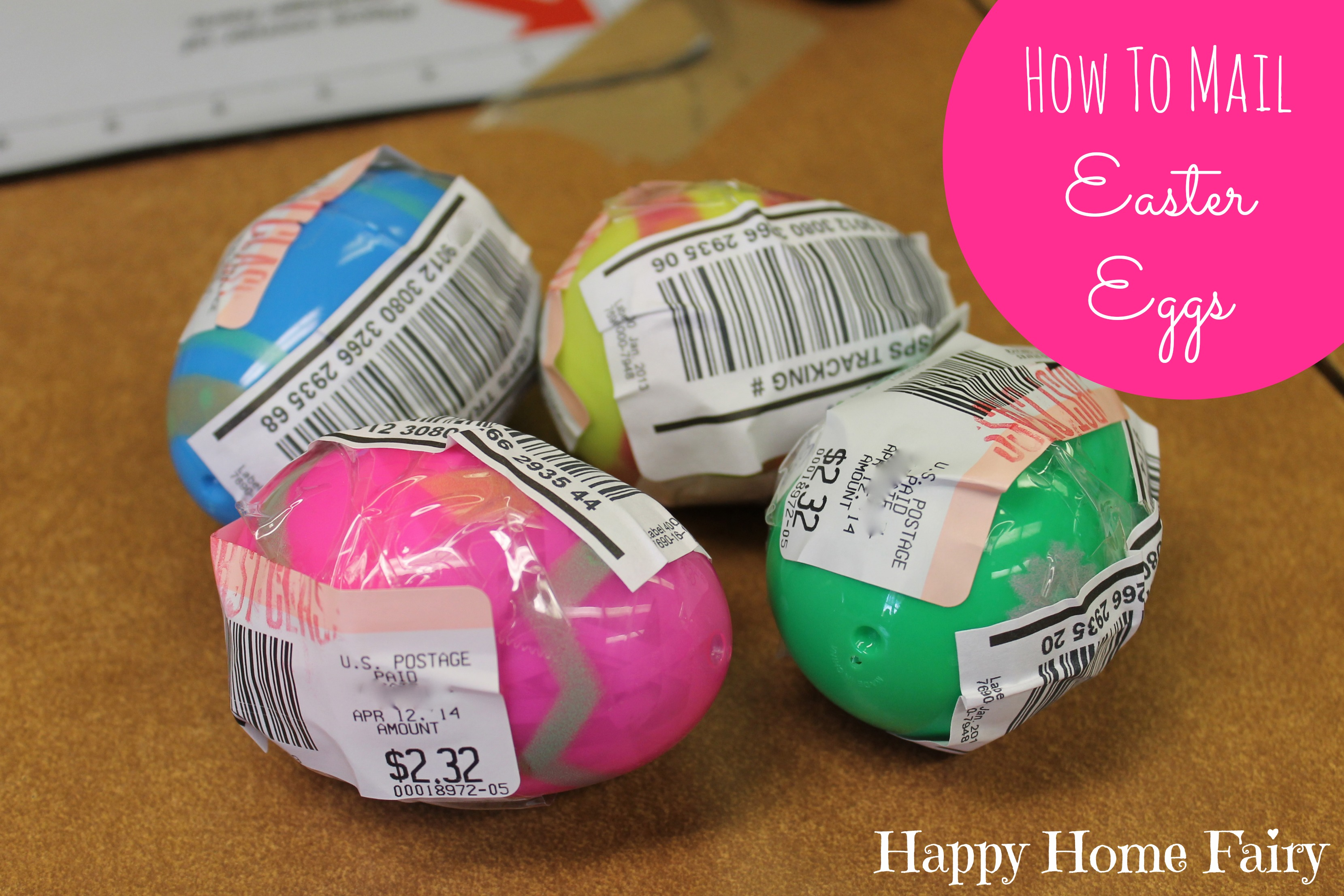 How To Mail Easter Eggs - Happy Home Fairy