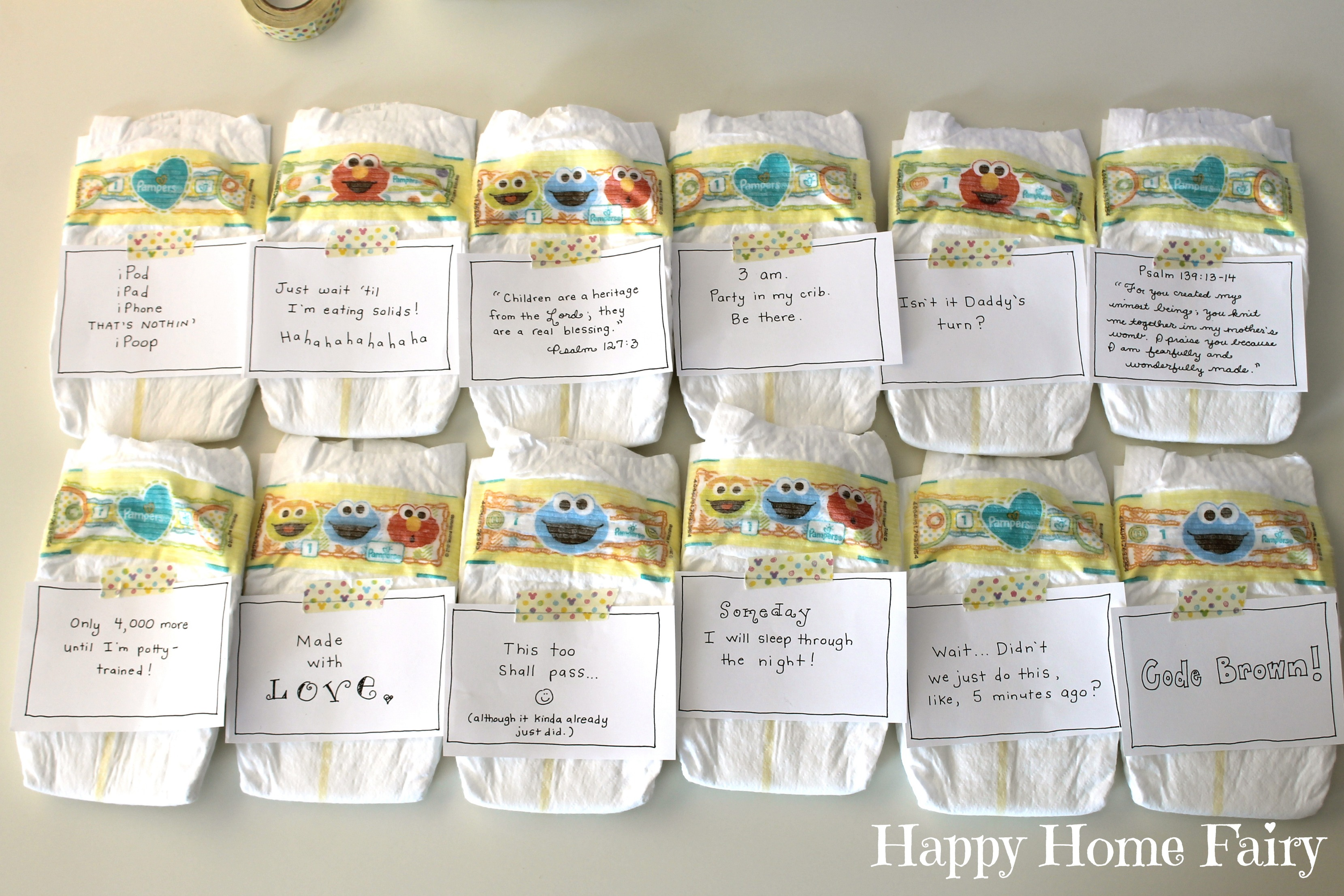 picture about Late Night Diaper Messages Free Printable named Midnight Messages for Fresh Mommies - Free of charge Printable! - Delighted