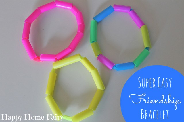 super easy and adorable friendship bracelets - all you need are straws and pipe cleaners!.jpg