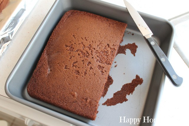 how to make a number 5 cake 5