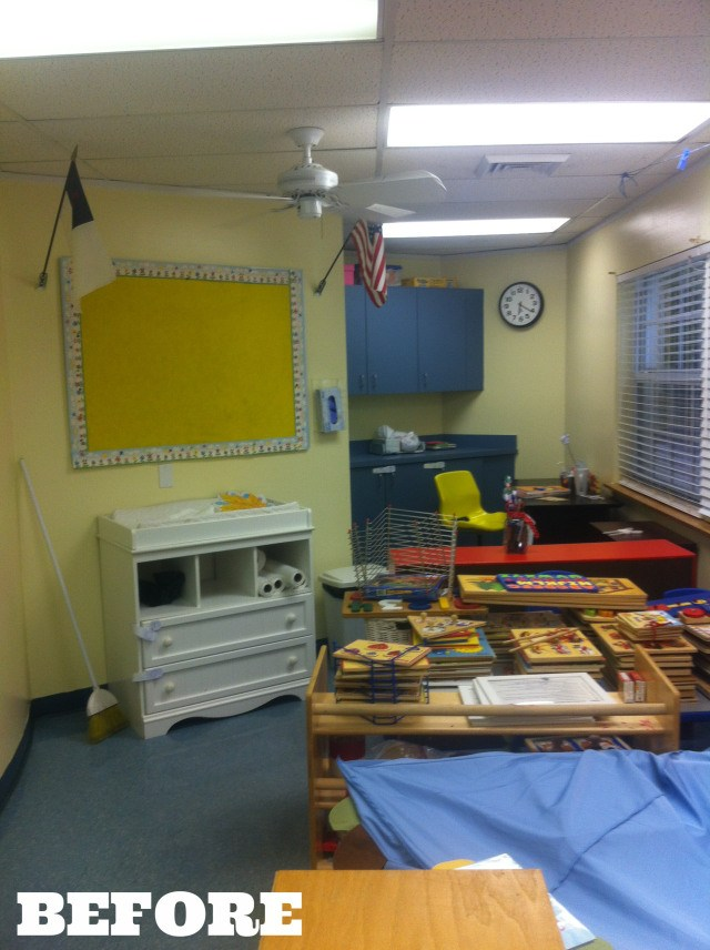 classroom BEFORE 1