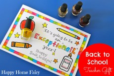 Easy Teacher Gift for the First Day of School