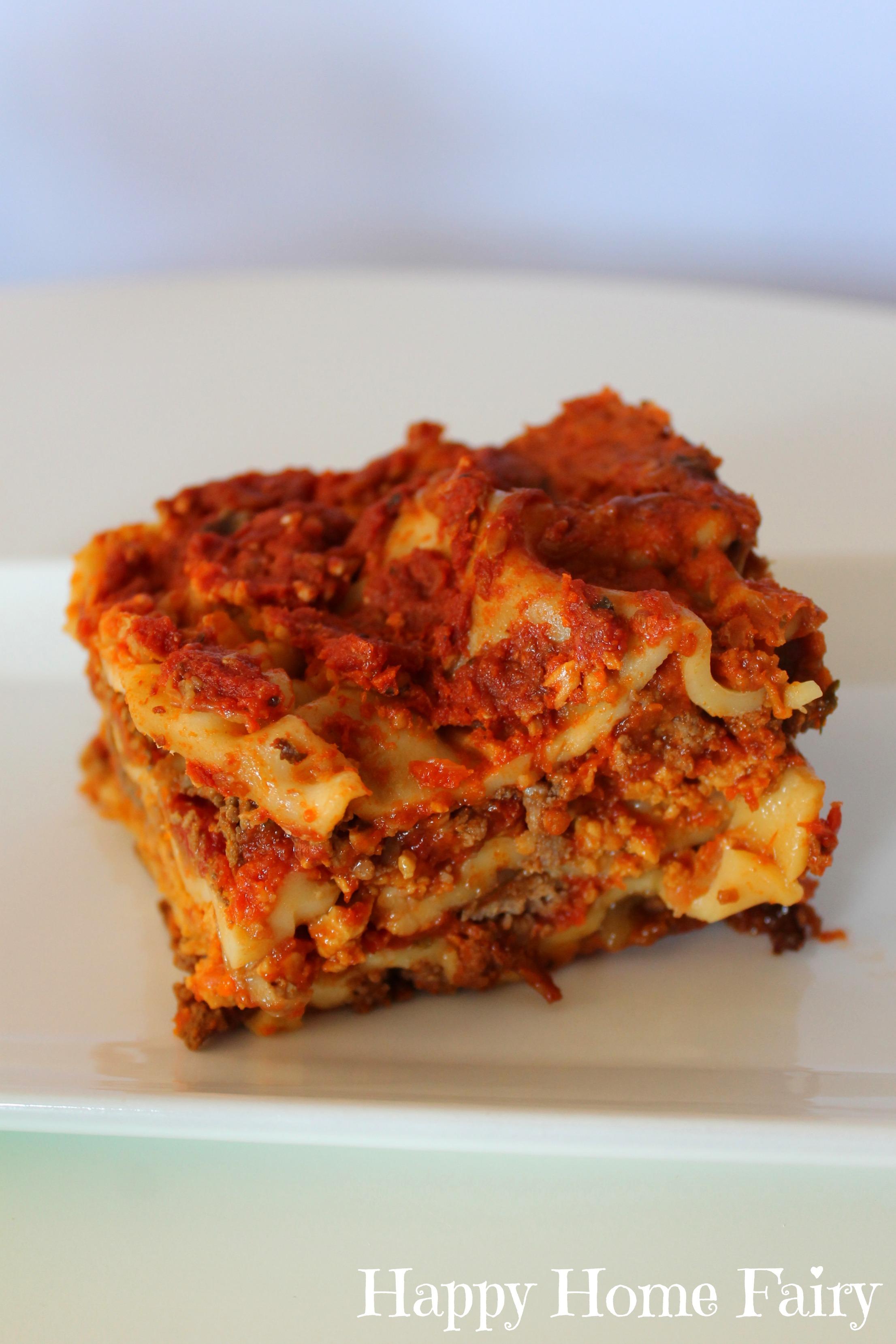 ... Crockpot Lasagna 9