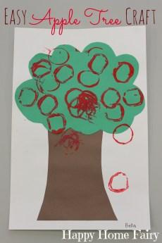 Easy Apple Tree Craft
