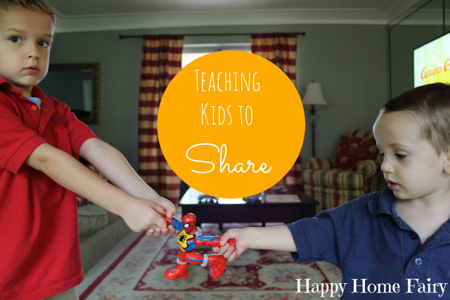 Sharing is Caring - Teaching Kids to Share - Happy Home Fairy