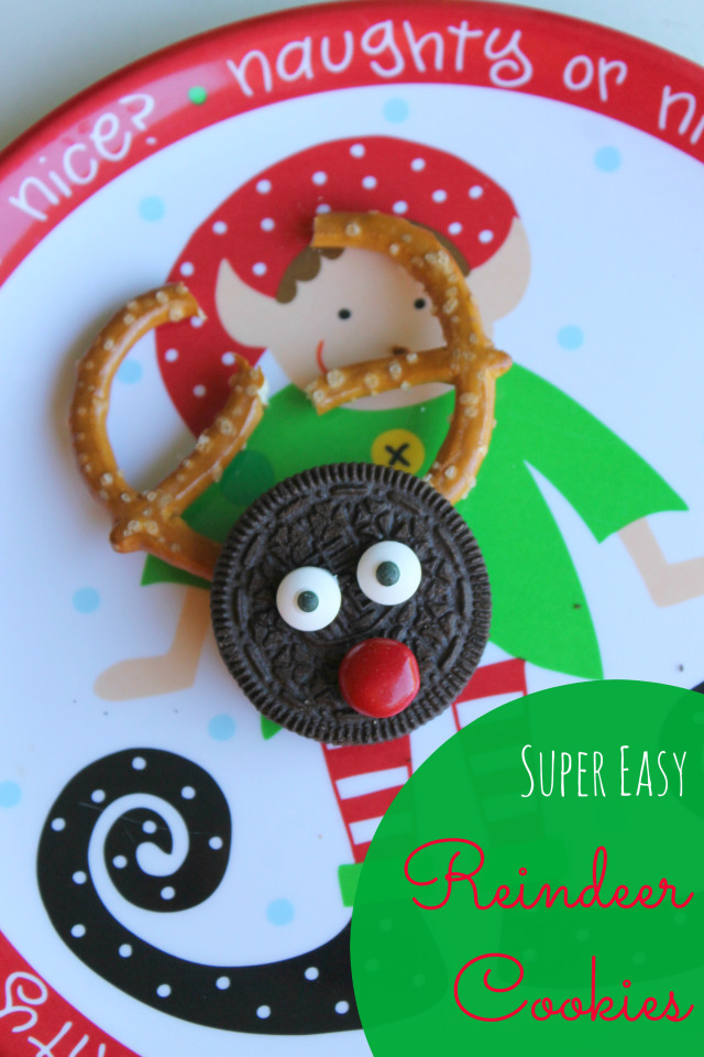 super easy reindeer cookies