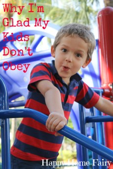 Why I'm Glad My Kids Don't Obey