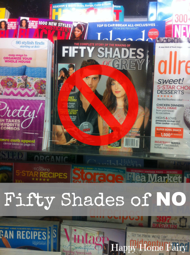 50 Shades of No by Happy Home Fairy