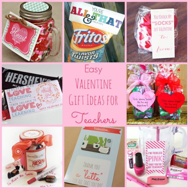 Easy Valentine Gift Ideas for Teachers