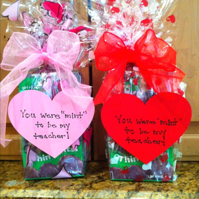 you were mint to be my teacher - Valentines Day Ideas For Teachers
