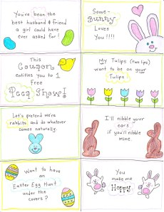 An Easter Basket for the Happy Hubby – FREE Printables!
