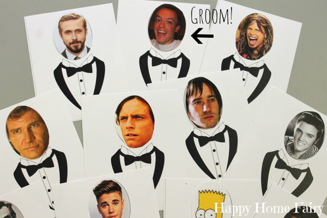 hilarious bridal shower game - Who Has the Groom