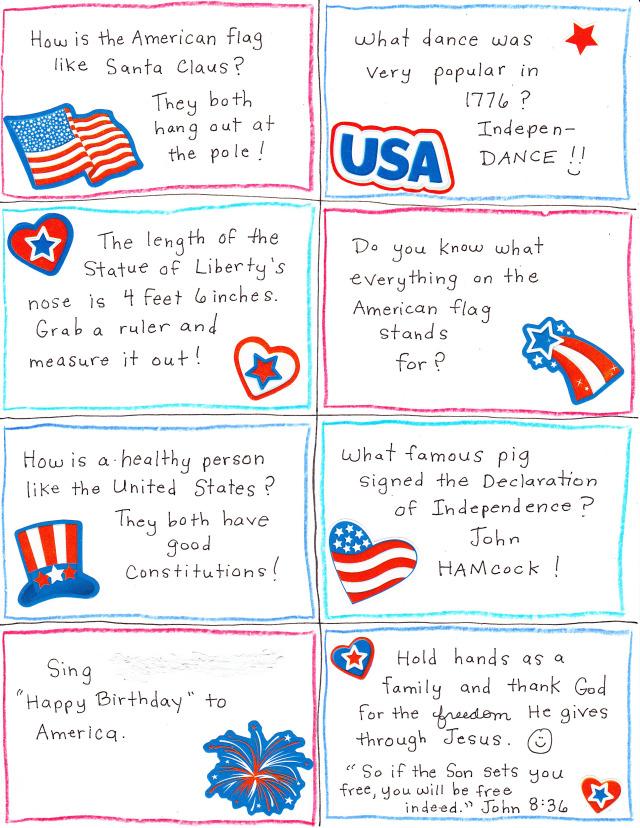 Patriotic Convo Starters #2