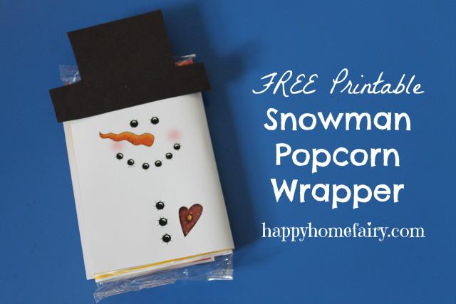 popcorn wrapper