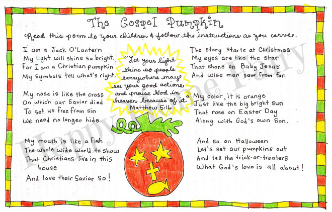 photo relating to Pumpkin Gospel Printable called The Gospel Pumpkin - Free of charge Printable! - Content Property Fairy