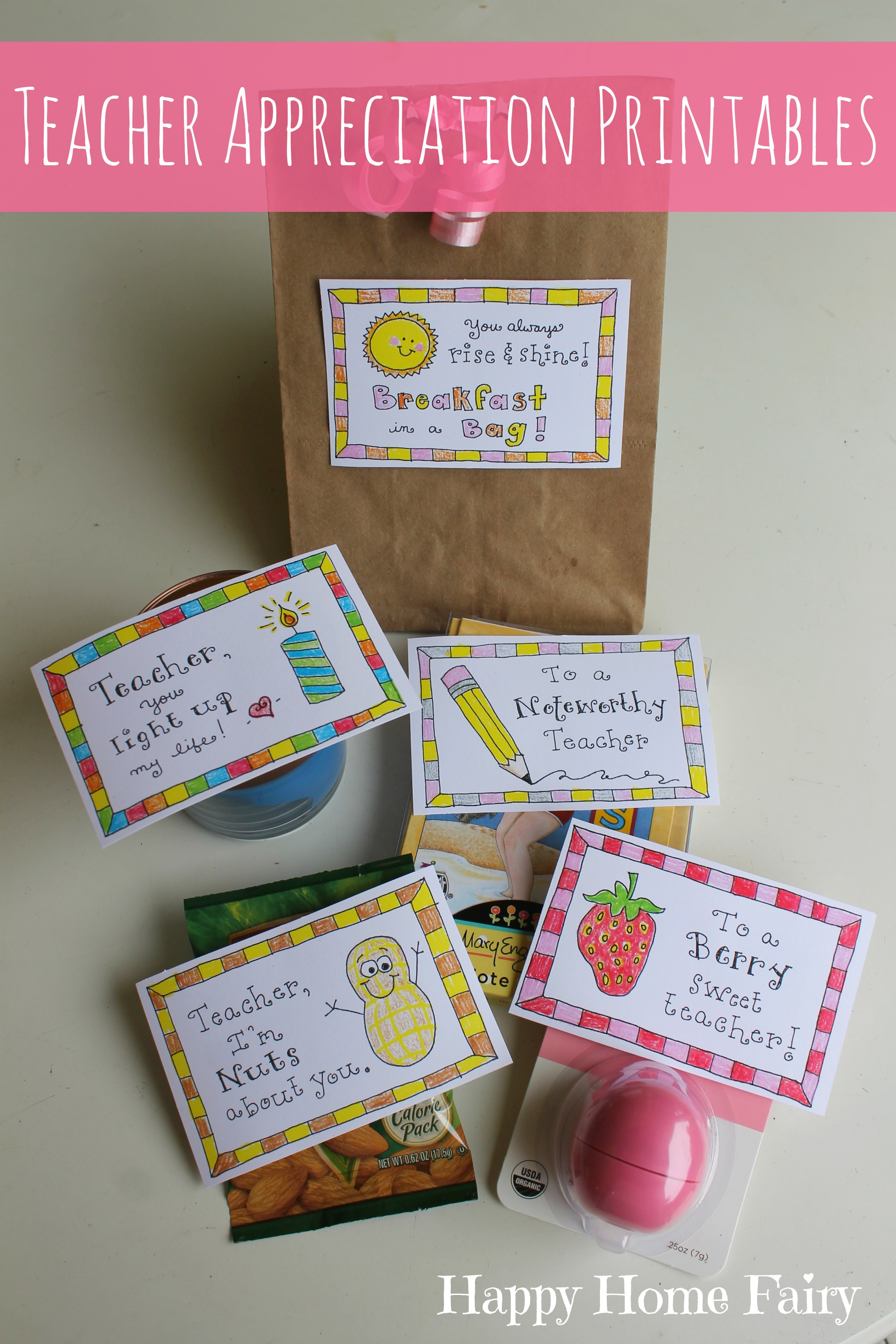 5 Simple Teacher Appreciation Ts