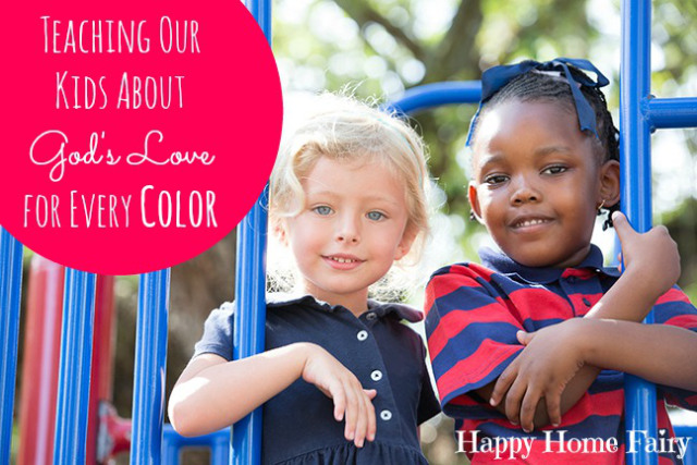 What happened in South Carolina should never happen again... Here's how we can raise kids to love and honor people of every color.