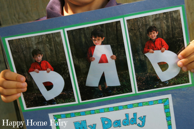 father's day project - free printable - love this