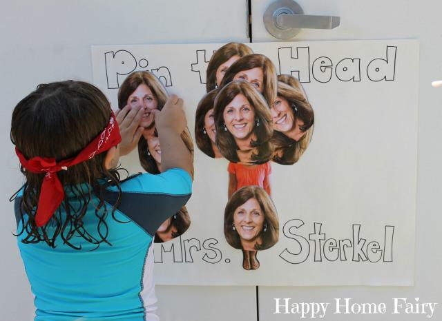 pin the head on the teacher 3