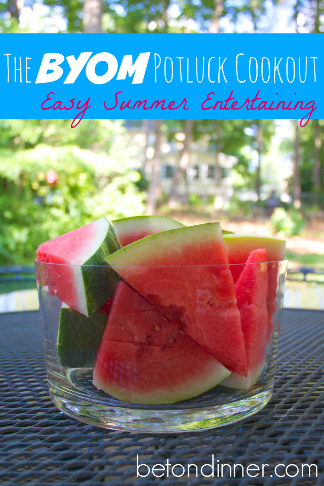 the easiest way to entertain this summer!