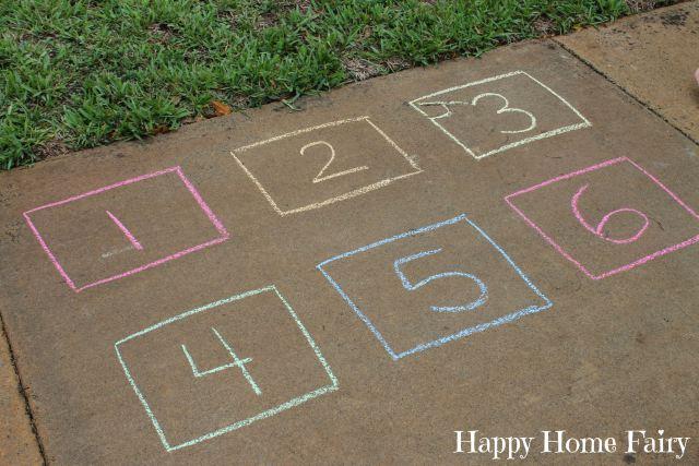 chalk game