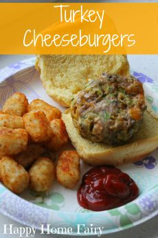 Recipe – Turkey Cheeseburgers