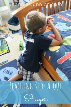 A Simple Way to Teach Kids How to Pray