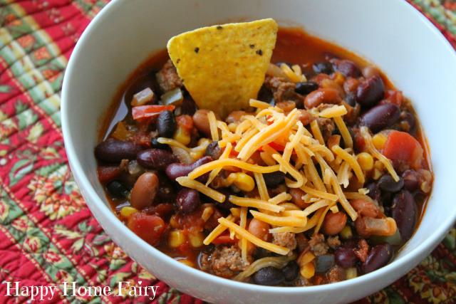yummy taco soup